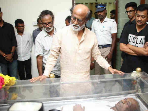 Rajinikanth pays tribute to Mahendran