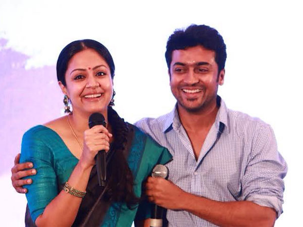 Actor Surya and Jothika to do movie again
