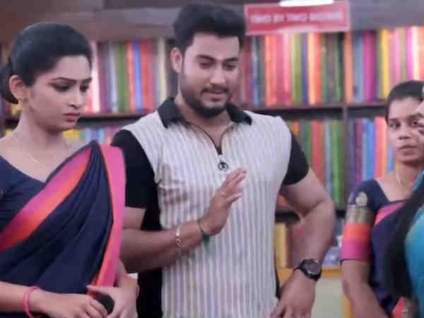 ரவிக்கு குறும்பு ஜாஸ்திதான்...  மாமாகிட்டயே பர்மிஷன் கேட்கறானே...!