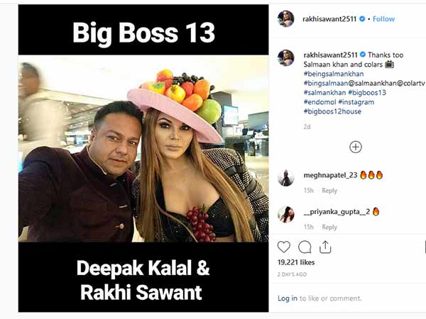 Bigg Boss 13: Rakhi Sawant to enter with Deepak Kalal?