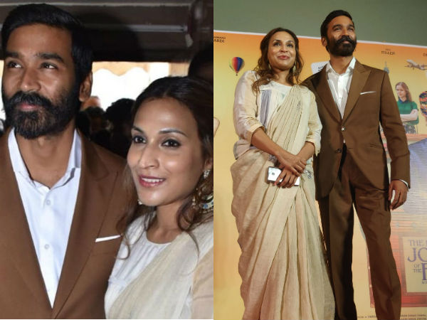 Dhanush, Aishwarya attend The Extraordinary Journey of the Fakir trailer launch