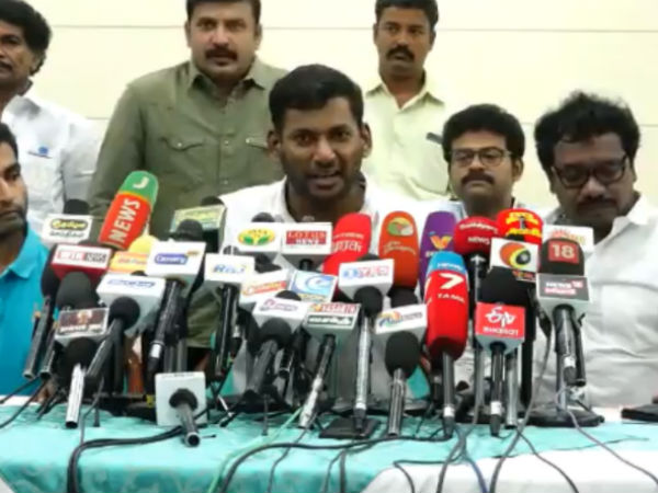 I am not tempted for the position.. Actor Vishal tell about Actors Association Election