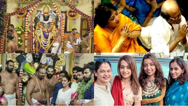 ரஜினி, த்ரிஷா, நயன்தாரா - பிரபலங்களின் பிரச்சினைகளையும்  தீர்க்கும் அத்திவரதர்