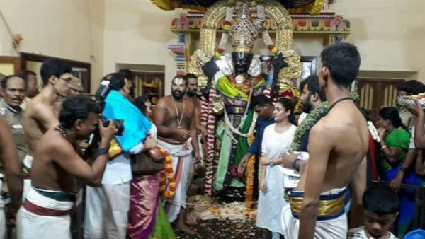 40 ஆண்டுகள் கழித்து நயன்தாரா அத்திவரதரை தரிசித்தால்...