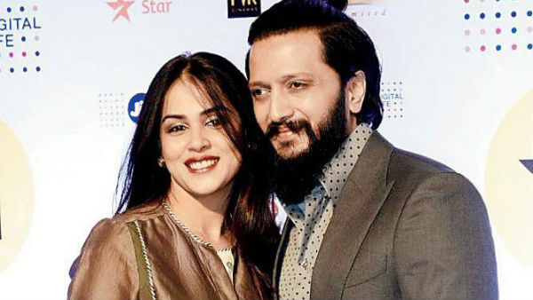Hubby Ritesih Deshmukhs awesome wish for Genelia