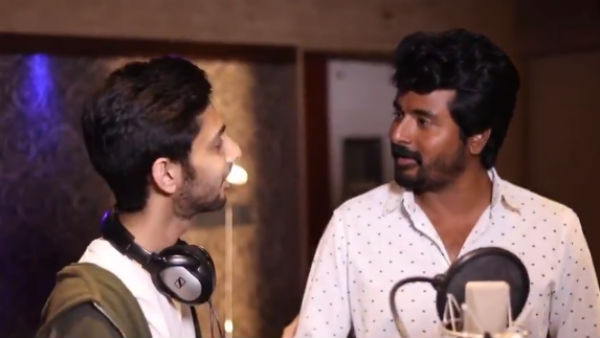 Anirudh and Sivakarthikeyan Namma veettu pillai recording video goes viral