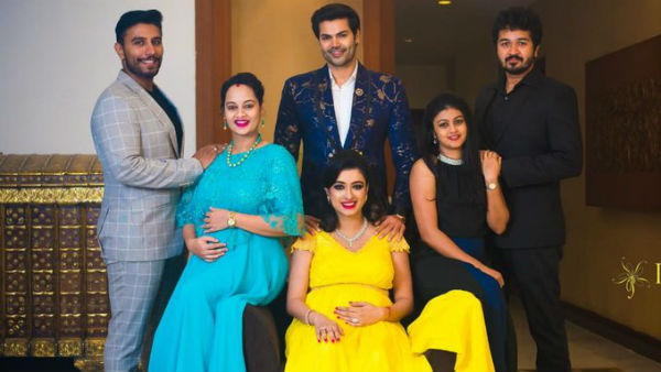 Bigg boss fame suja varunee admitted to hospital for first baby