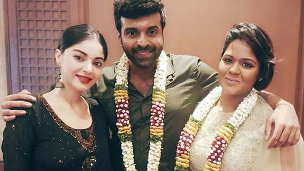 Bigg boss Ramya marries serial actor Sathya
