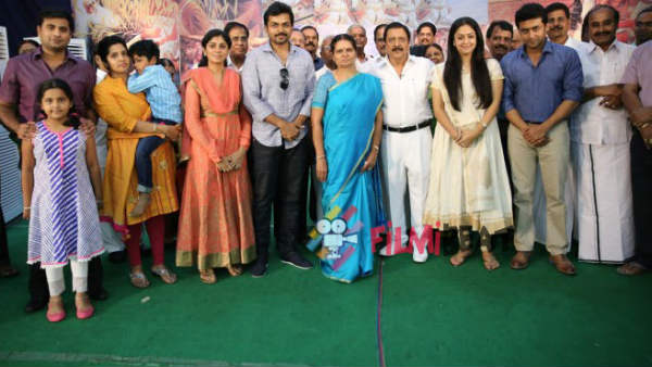 Unity is the strength of the Sivakumar family