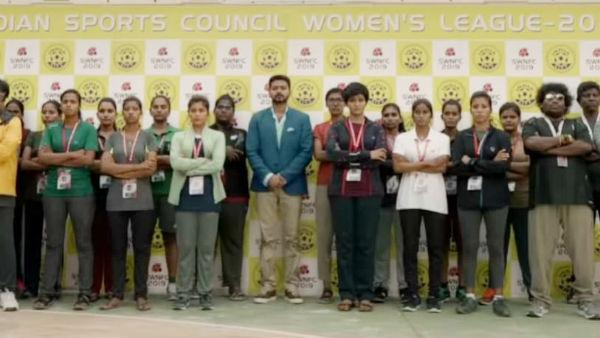 பிகில் அப்டேட்: விஜய் கடுமையான உழைப்பாளி... ரொம்ப திறமையானவர் - ஜேமி நைட்