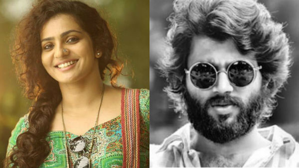 Actress Parvathy is winning hearts of the netizens for slamming Arjun Reddy