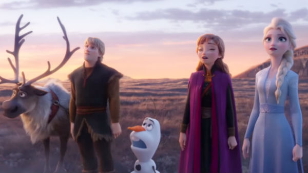 frozen 2 is a animation movie released in many languages of india