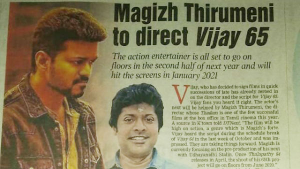 Who is the director of Thalapathy65?