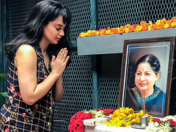 """இரும்பு மனுஷி ஜெயலலிதா.. """"அயர்ன்லேடி"""" கங்கனாவின் அஞ்சலி!"""