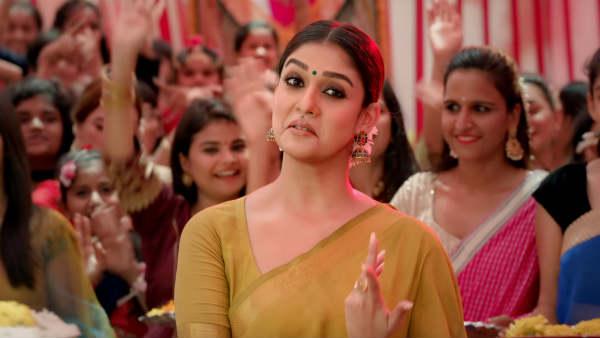 ப்பா.. சும்மா சொல்லக்கூடாது.. அவரு சொன்னது உண்மைதான்.. நயன்தாரா செம கிளாமர்.. ம்.. வேறலெவல்!