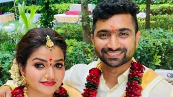 நந்தினி புகழ் நித்யா ராம்... கௌதமை கைபிடித்தார்