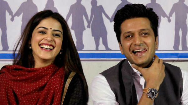 Riteish Deshmukh Reveals He Took Wife Genelia To Watch The Film On First Date
