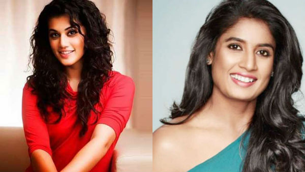 Tapsee Pannu to portray the role of cricketer Mithali Raj