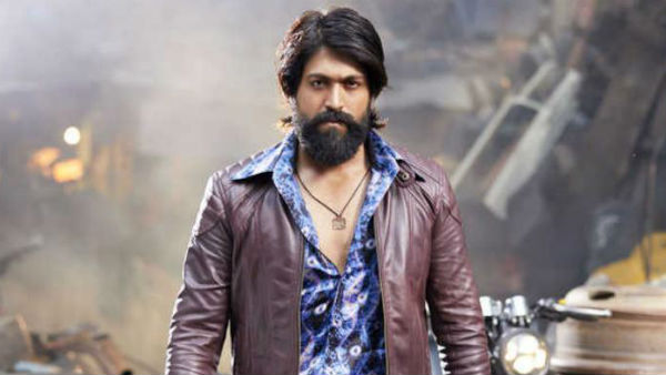KGF Yash press meet in airport