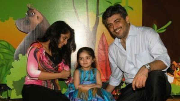 Ajith daughter birth day
