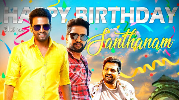 Happy birthday santhanam