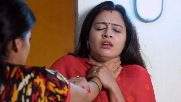 Azhagu serial: வீட்டில் இருக்கும் பூர்ணாவை விட்டுட்டு போலீஸ்கிட்டே போறா சுதா...!