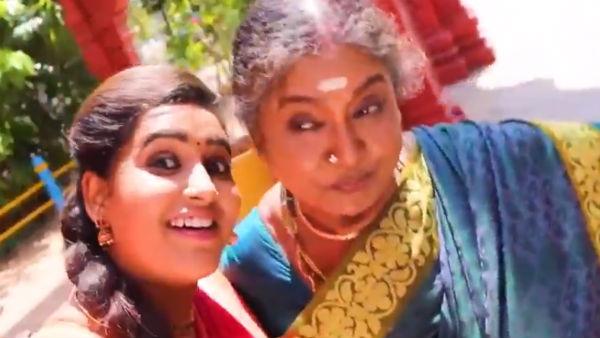 Thenmozhi BA Serial: இந்தா ஜீன்ஸ் பாட்டியும் வந்துட்டாக...தேன்மொழி சீரியலில்!