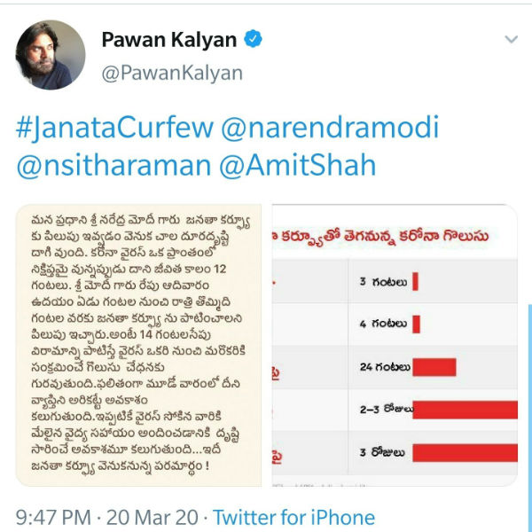 After Rajinikanth, Pawan Kalyan fake information tweet also deleted!