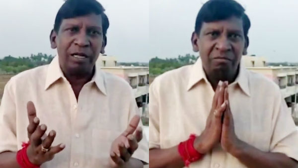 Coronavirus: Actor Vadivel Emotional speech for public