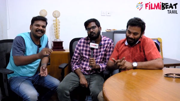 Pallu Padama paathuko team interview promo video!