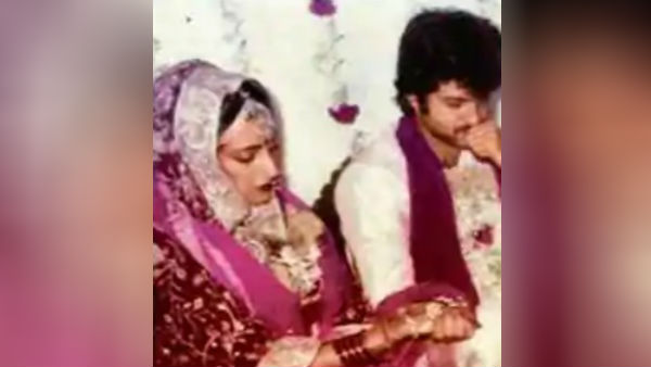 Bollywood actor Anil Kapoor shared interesting information about his marriage.