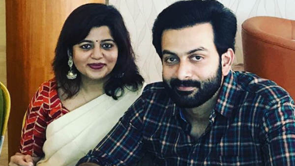 Prithviraj sent his wife a congratulatory message on Twitter for her 9th wedding anniversary