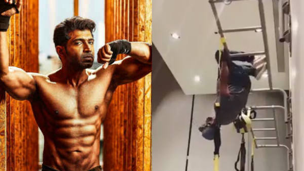 Actor Arunvijay shared a throwback video