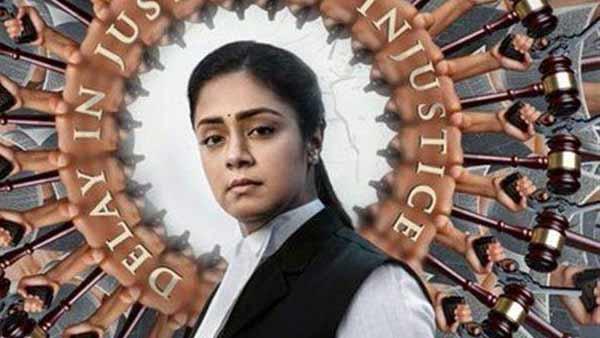 80 சதவிகித திரைப்படங்கள் பெண்களை அப்படிக் காண்பிக்கவில்லை.. சொல்கிறார் 'பொன்மகள் வந்தாள்' ஜோதிகா!