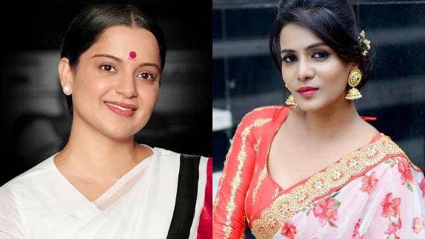 ஜெயலலிதா ரோலில் நடிக்க நீங்க யாரு.. நடிகை கங்கனா ரனாவத்தை சீண்டும் பிக்பாஸ் பிரபலம்!