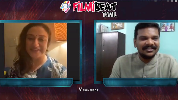 Promo video: Sonia Agarwal says I Love You to V connect anchor!