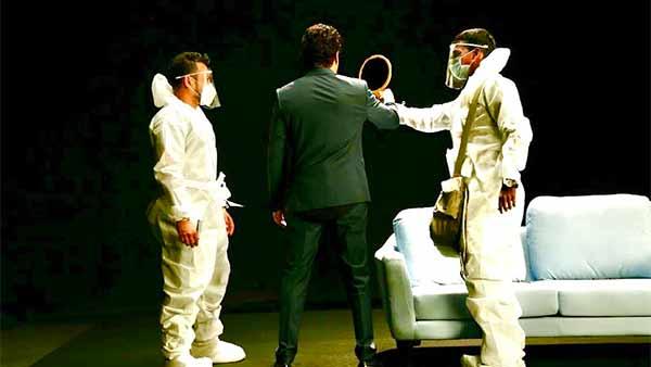 லைட்ஸ்.. கேமரா.. ஆக்ஷன்.. தொடங்கியது பிக்பாஸ் சீசன் 4 ஷுட்டிங்..  பிரபல நடிகர் வெளியிட்ட போட்டோ!