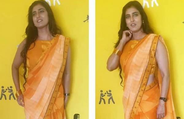 கஸ்தூரி மஞ்சளாம்.. மஞ்சள் நிற சேலை.. ஸ்லீவ்லெஸ் ஜாக்கெட்டில் சிக்கென இருக்கும் சீனியர் நடிகை!