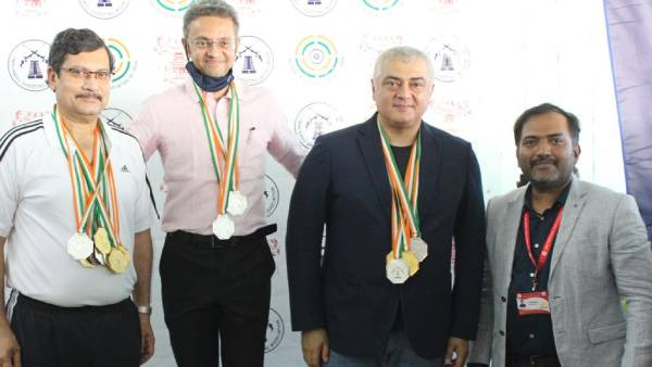 Ajith wins six medals as part of Chennai Rifle Club in shooting championship
