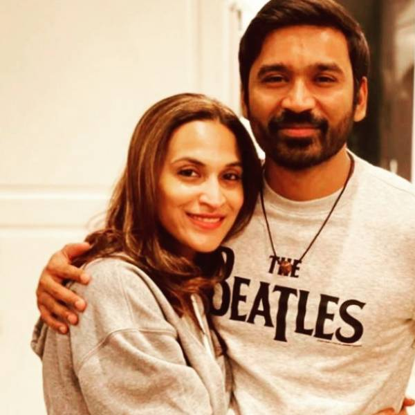 KANDA VARA SOLLUNGA...! - AISHWARYAS LATEST PIC WITH DHANUSH WINS HEARTS