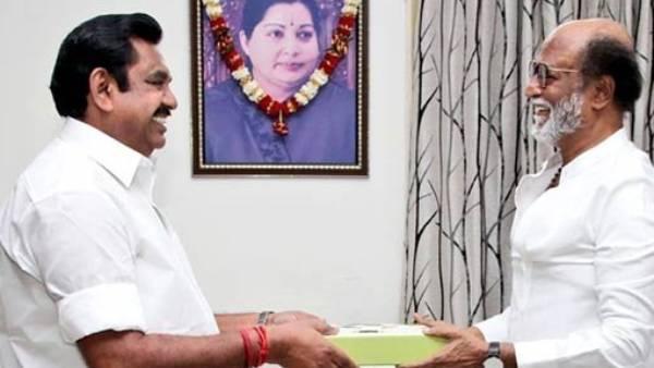 ரஜினிக்கு தாதா சாகேப் பால்கே விருது...தொலைபேசியில் வாழ்த்திய முதல்வர் !