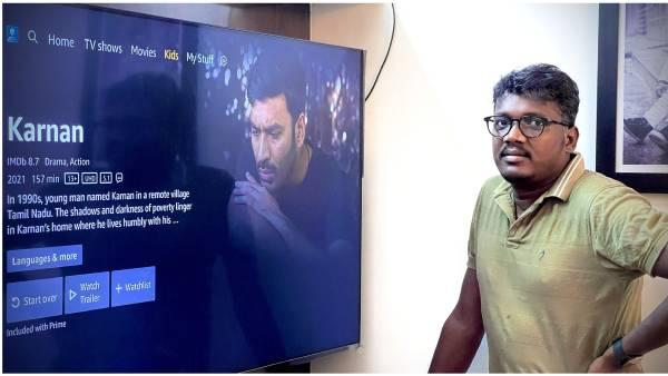 ரம்ஜான் ட்ரீட்.. அமேசான் பிரைமில் வெளியானது கர்ணன்.. டிரெண்டாகும் #KarnanOnPrime
