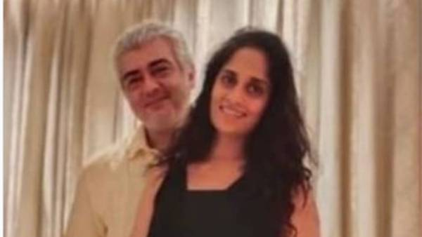 Thala Ajiths unseen picture with wife Shalini is all things cute. Trending now