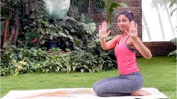 ஷில்பா ஷெட்டியின் பிட்னஸ் ரகசியம்... யோகாசனம் செய்து வீடியோ வெளியிட்ட நடிகை