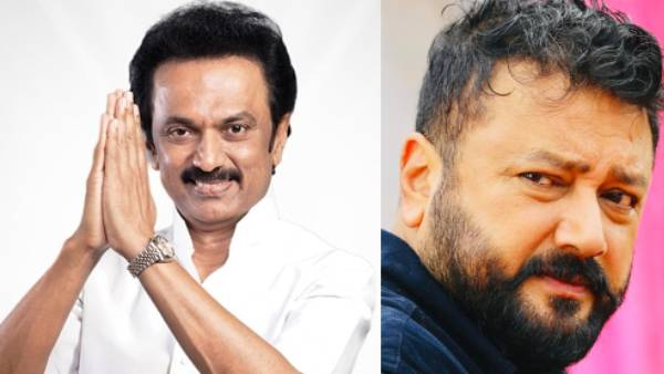 Actor Jayaram Meets DMK president stalin in person and conveyed wishes
