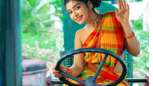 ஜாக்கெட் அணியாமல் வயல்வெளியில்... வைரலாகும் தர்ஷா குப்தா ஃபோட்டோஸ்