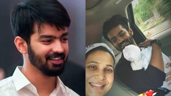 குட்டி பாப்பாவுடன் ஜாலியா செல்ஃபி … மகத்தின் மனைவி பகிர்ந்த குடும்ப புகைப்படம் ! | Actress Mahat's wife shares family pics