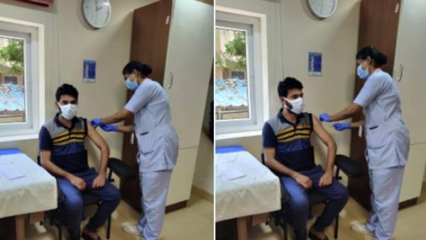 கோவிட் -19 தடுப்பூசியின் முதல் டோசை போட்டுக் கொண்ட நடிகர் விமல் | Actor Vemal got Vaccinated today