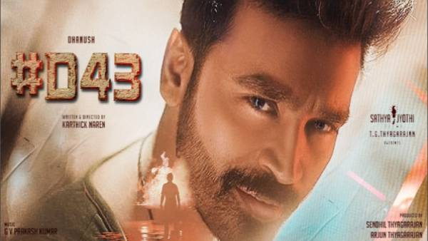 Dhanushs D43 movie shoot has been resumed