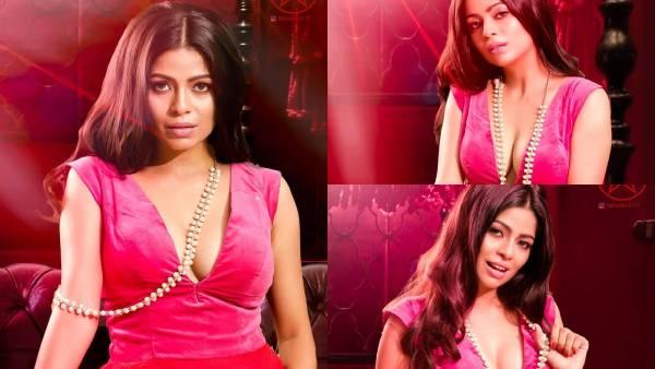 கொக்கி போட மறந்துட்டீங்களா.. சொக்க வைக்கும் சொப்பன சுந்தரி.. கலாய்க்கும் நெட்டிசன்கள்! | Bavithra rocks red hot in her latest photoshoot